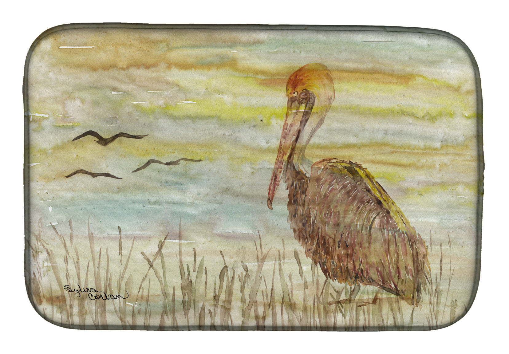 Buy this Brown Pelican Yellow Sky Dish Drying Mat SC2025DDM