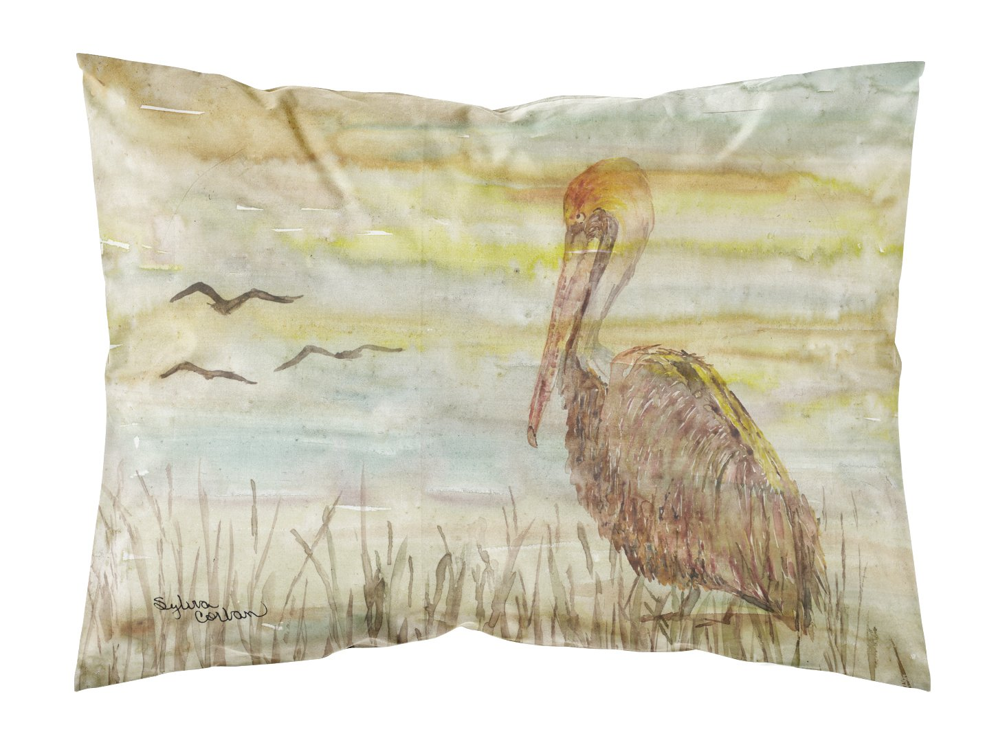 Buy this Brown Pelican Yellow Sky Fabric Standard Pillowcase SC2025PILLOWCASE