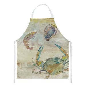 Buy this Crab, Shrimp, Oyster Yellow Sky Apron SC2026APRON