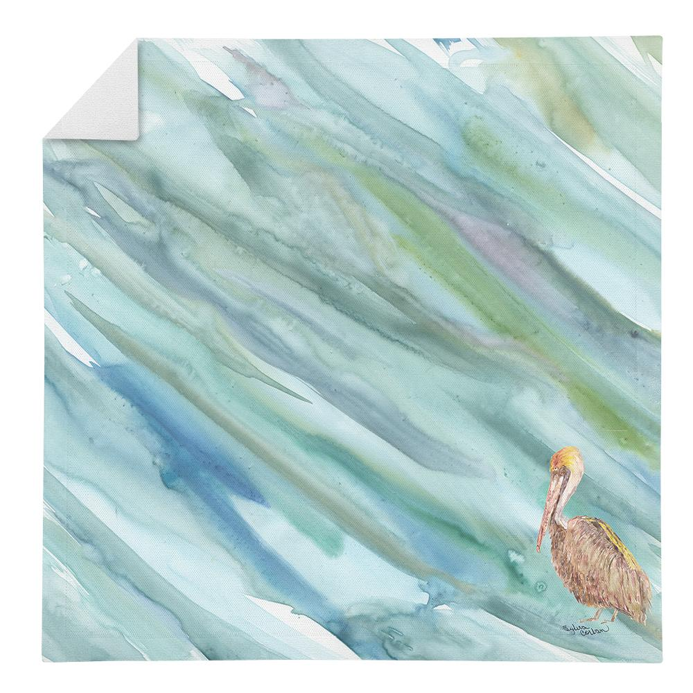 Buy this Brown Pelican on Blue Napkin SC2050NAP
