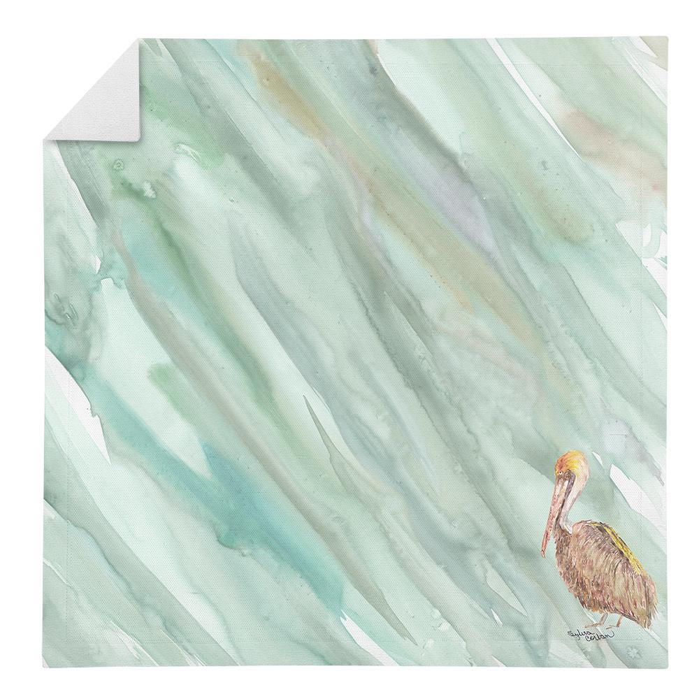 Buy this Brown Pelican on Sage Green Napkin SC2063NAP
