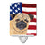 USA American Flag with Pug Ceramic Night Light SC9006CNL by Caroline's Treasures