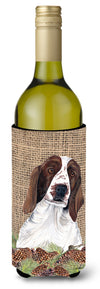 Buy this Welsh Springer Spaniel Wine Bottle Beverage Insulator Beverage Insulator Hugger