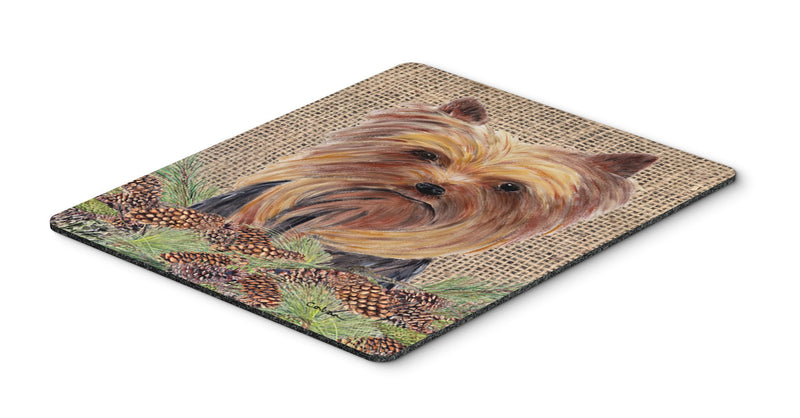 Buy this Yorkie Mouse Pad, Hot Pad or Trivet
