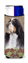 Springer Spaniel Ultra Beverage Insulators for slim cans SC9048MUK by Caroline's Treasures