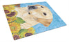 Labrador Glass Cutting Board Large by Caroline's Treasures