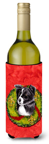 Border Collie Wine Bottle Beverage Insulator Beverage Insulator Hugger SC9104LITERK by Caroline's Treasures