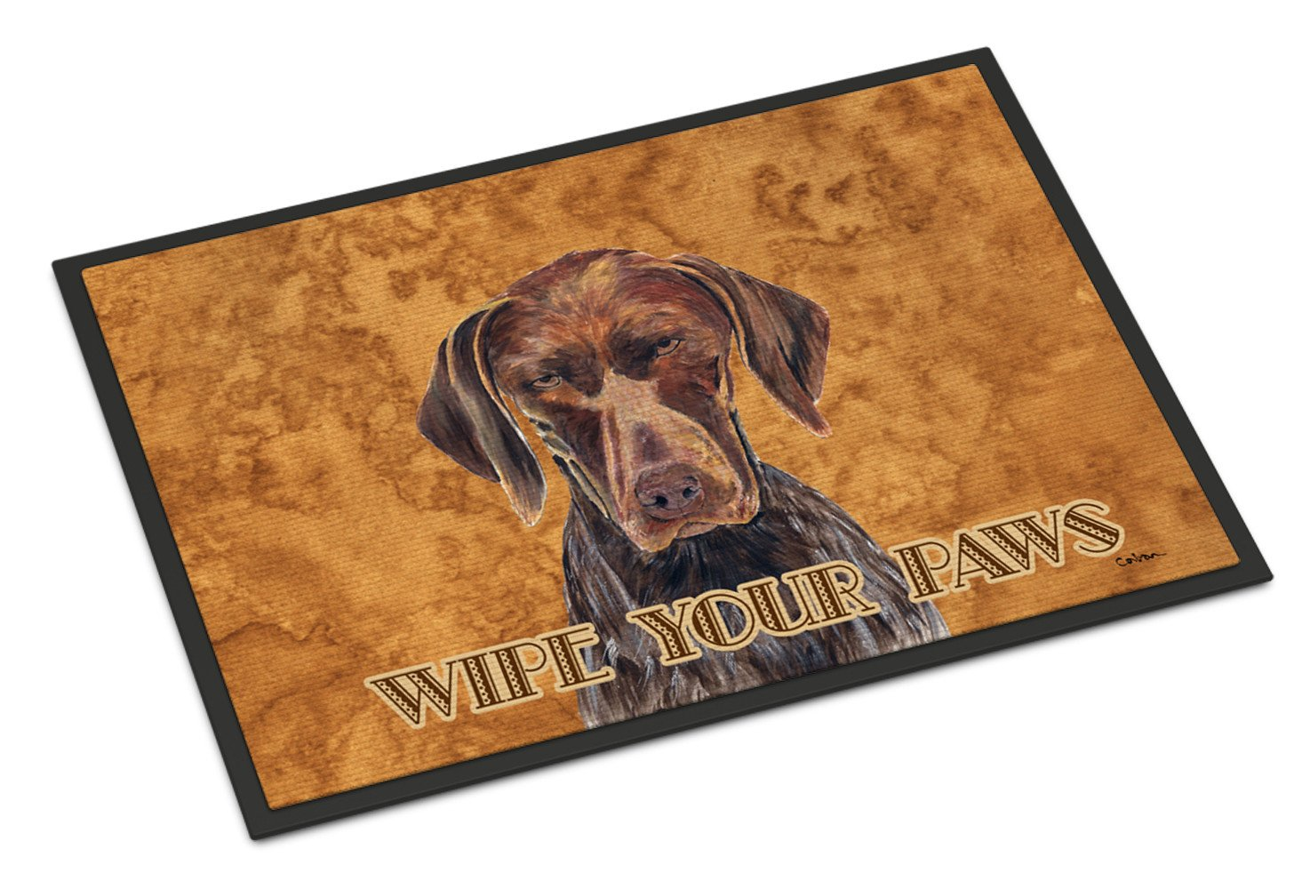 German Shorthaired Pointer Indoor or Outdoor Mat 18x27 Doormat by Caroline's Treasures