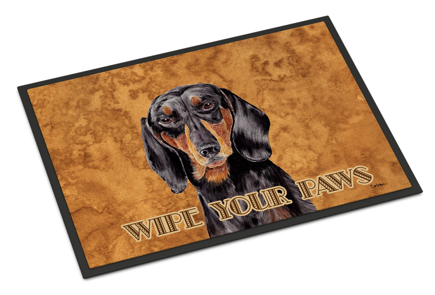 Dachshund Indoor or Outdoor Mat 18x27 Doormat - the-store.com