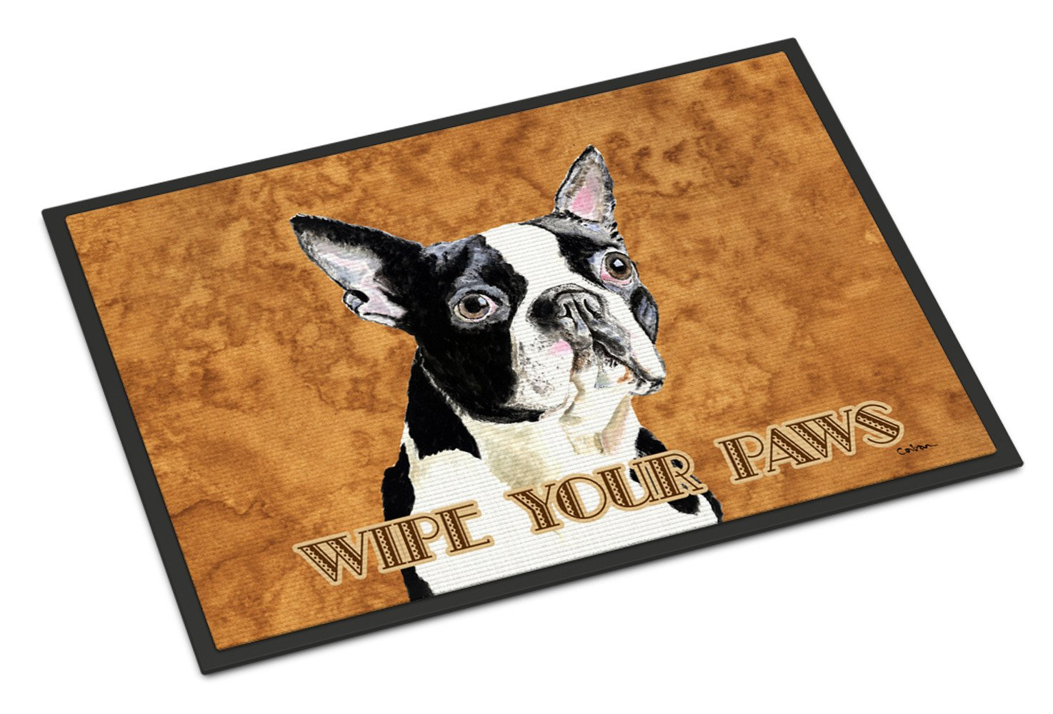 Boston Terrier Indoor or Outdoor Mat 18x27 Doormat - the-store.com