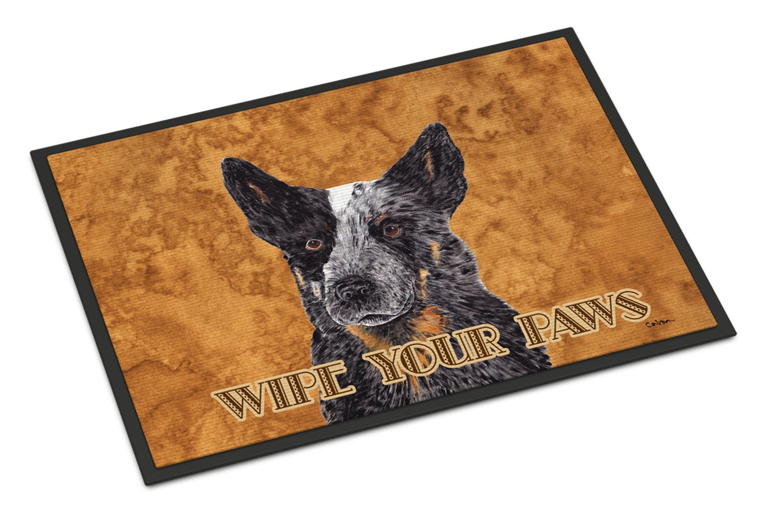 Australian Cattle Dog Indoor or Outdoor Mat 18x27 Doormat - the-store.com