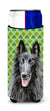 Belgian Sheepdog St. Patrick's Day Shamrock Portrait Ultra Beverage Insulators for slim cans SC9318MUK by Caroline's Treasures