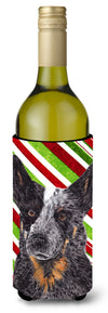 Australian Cattle Dog  Holiday Christmas Wine Bottle Beverage Insulator Beverage Insulator Hugger by Caroline's Treasures