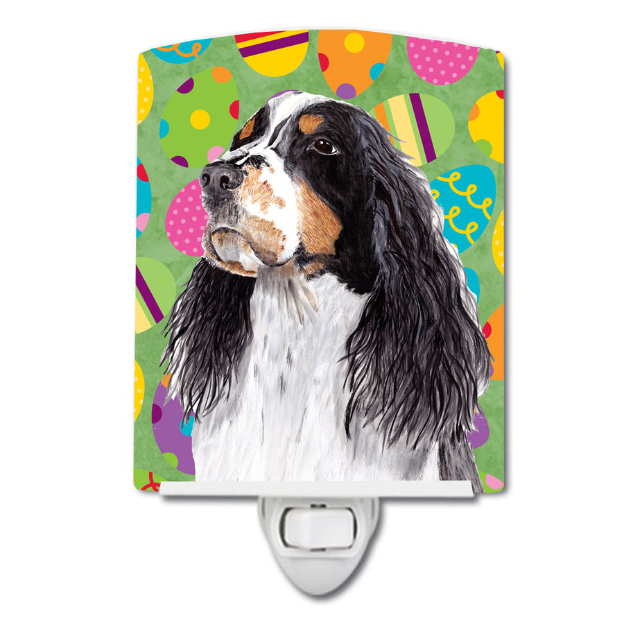 Buy this Springer Spaniel Easter Eggtravaganza Ceramic Night Light SC9441CNL