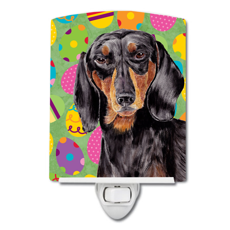 Buy this Dachshund Easter Eggtravaganza Ceramic Night Light SC9443CNL