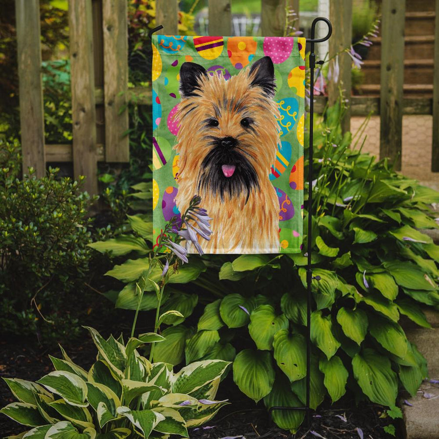 Buy this Cairn Terrier Easter Eggtravaganza Flag Garden Size