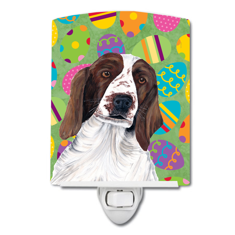 Buy this Welsh Springer Spaniel Easter Eggtravaganza Ceramic Night Light SC9460CNL