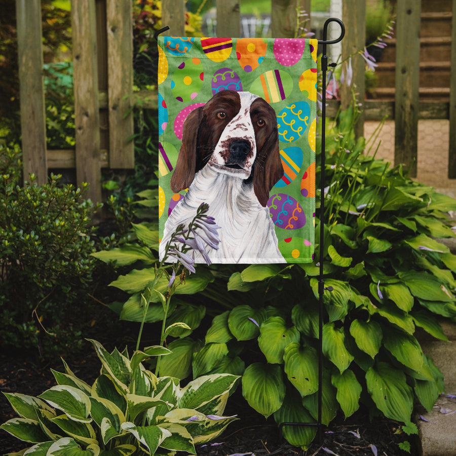 Buy this Welsh Springer Spaniel Easter Eggtravaganza Flag Garden Size