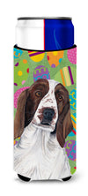Welsh Springer Spaniel Easter Eggtravaganza Ultra Beverage Insulators for slim cans SC9460MUK by Caroline's Treasures