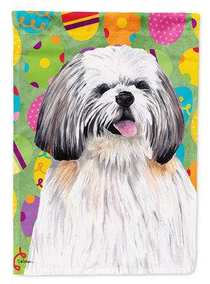 Buy this Shih Tzu Easter Eggtravaganza Flag Garden Size