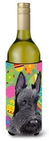 Buy this Scottish Terrier Easter Eggtravaganza Wine Bottle Beverage Insulator Beverage Insulator Hugger