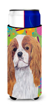 Cavalier Spaniel Easter Eggtravaganza Ultra Beverage Insulators for slim cans SC9474MUK by Caroline's Treasures