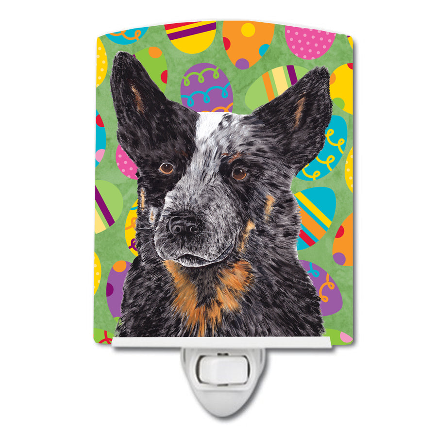 Buy this Australian Cattle Dog Easter Eggtravaganza Ceramic Night Light SC9476CNL
