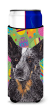 Australian Cattle Dog Easter Eggtravaganza Ultra Beverage Insulators for slim cans SC9476MUK by Caroline's Treasures
