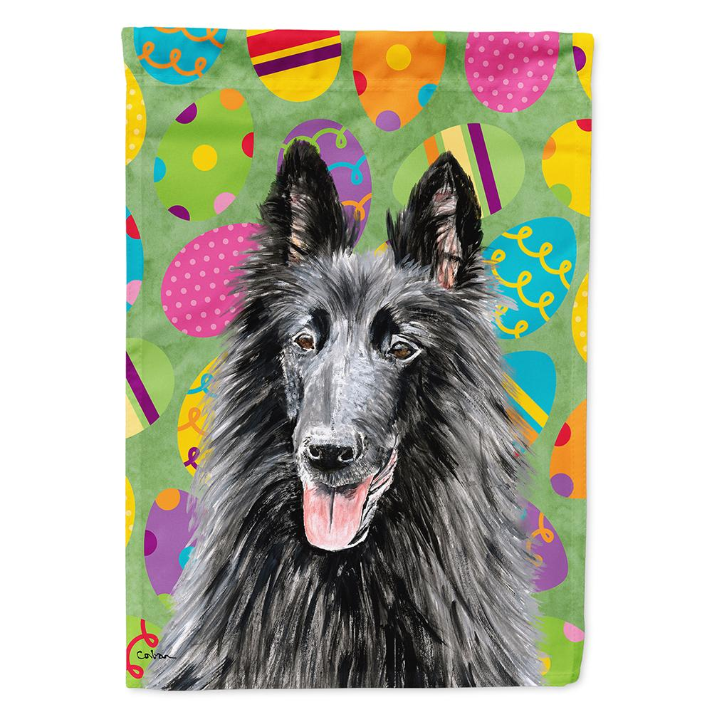 Buy this Belgian Sheepdog Easter Eggtravaganza Flag Garden Size