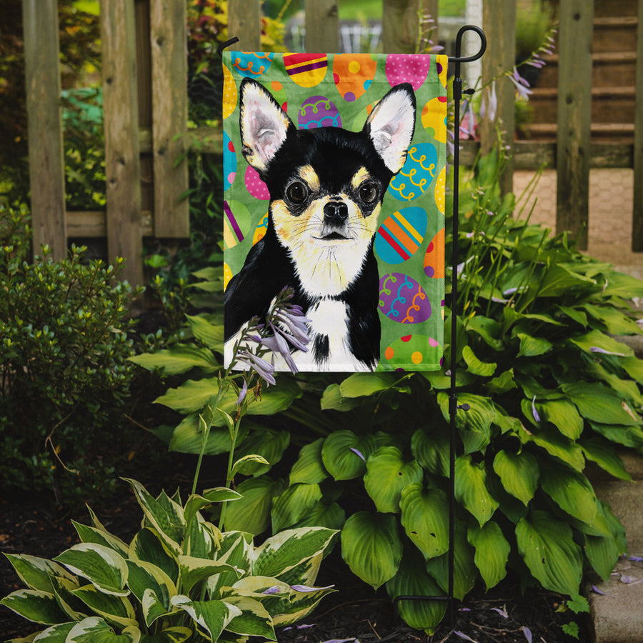 Buy this Chihuahua Easter Eggtravaganza Flag Garden Size