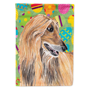 Buy this Afghan Hound Easter Eggtravaganza Flag Garden Size SC9500GF