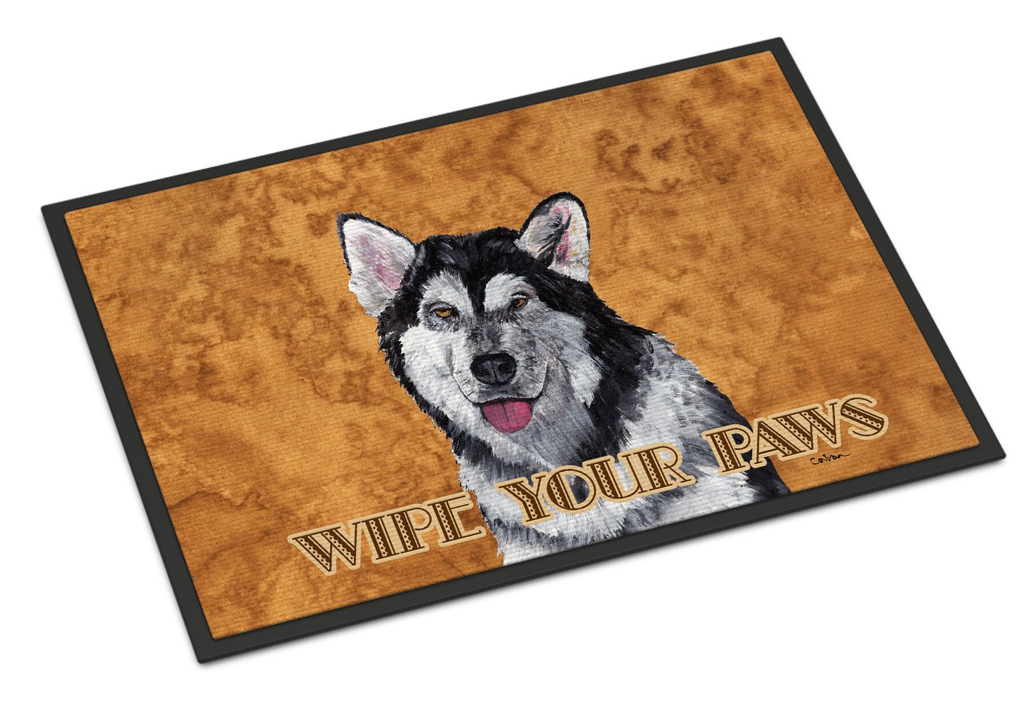 Alaskan Malamute Indoor or Outdoor Mat 18x27 SC9507MAT - the-store.com