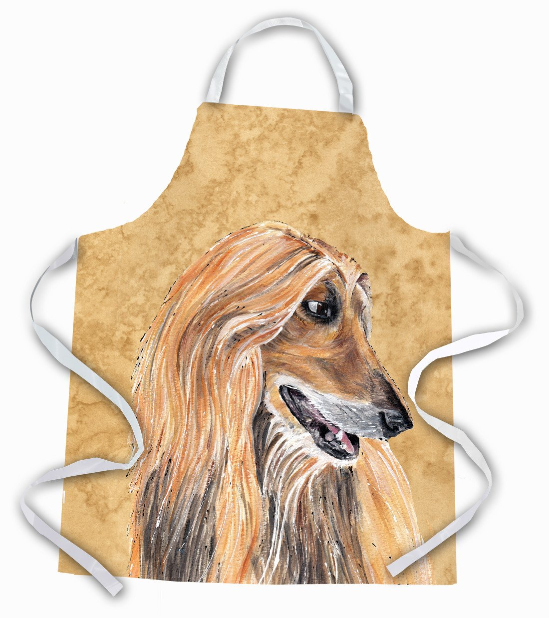 Afghan Hound Apron by Caroline's Treasures