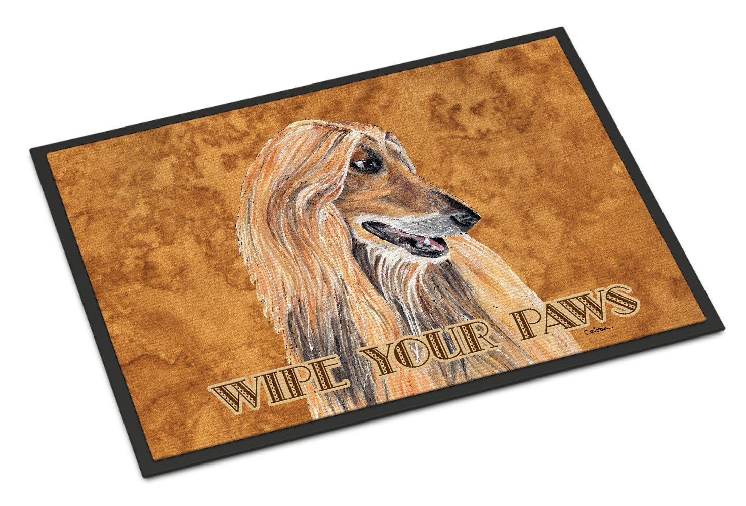Afghan Hound Indoor or Outdoor Mat 18x27 SC9509MAT - the-store.com