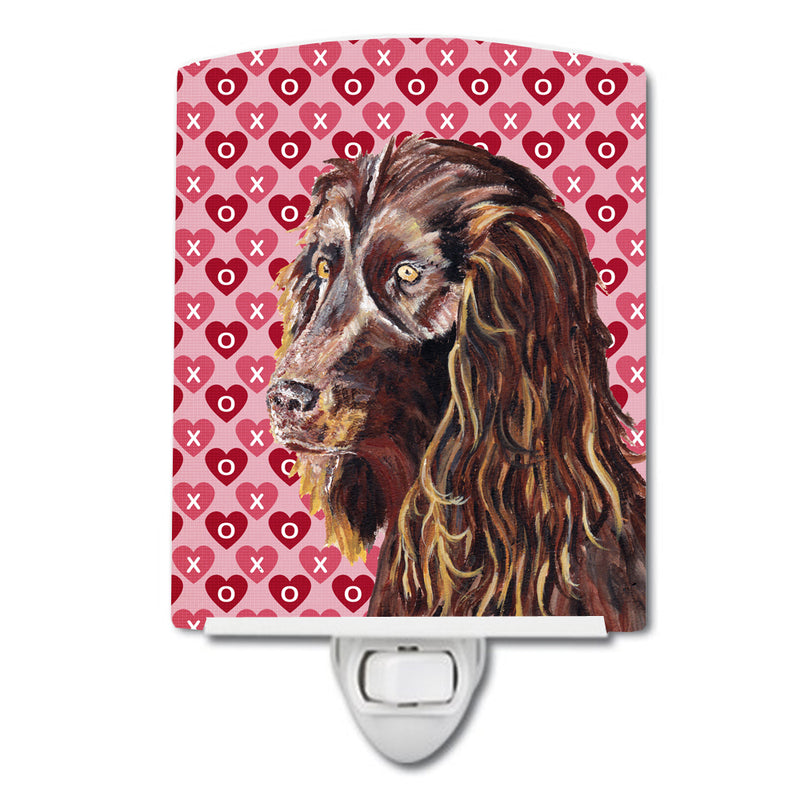Buy this Boykin Spaniel Hearts and Love Ceramic Night Light SC9560CNL