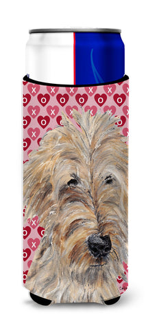Buy this Goldendoodle Valentine's Love Ultra Beverage Insulators for slim cans