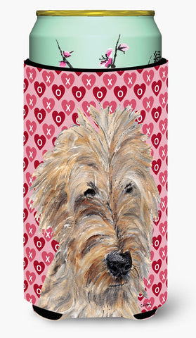 Buy this Goldendoodle Valentine's Love Tall Boy Beverage Insulator Beverage Insulator Hugger