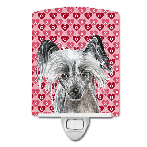 Buy this Chinese Crested Hearts and Love Ceramic Night Light SC9564CNL