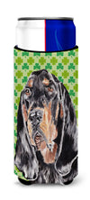 Coonhound St Patrick's Irish Ultra Beverage Insulators for slim cans by Caroline's Treasures