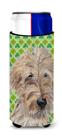 Buy this Goldendoodle St Patrick's Irish Ultra Beverage Insulators for slim cans