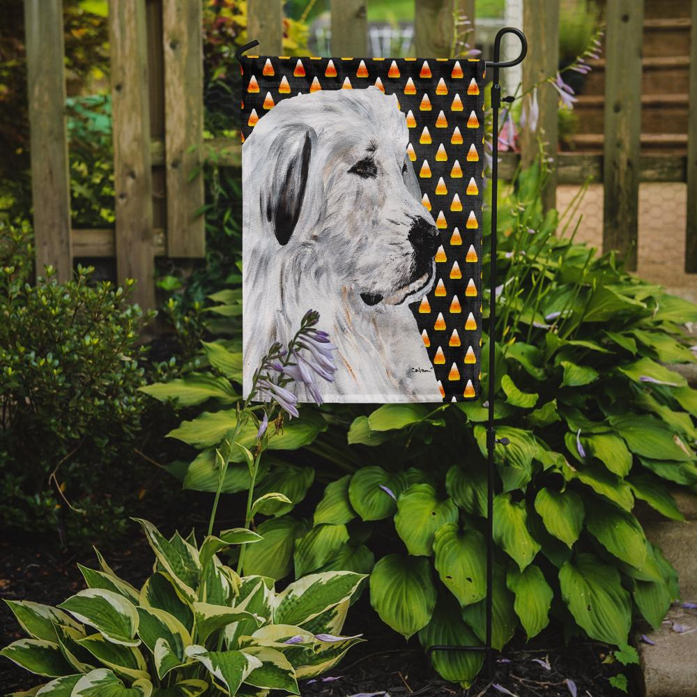 Great Pyrenees Candy Corn Halloween Flag Garden Size SC9666GF by Caroline's Treasures