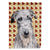 Buy this Scottish Deerhound Fall Leaves Flag Garden Size SC9682GF