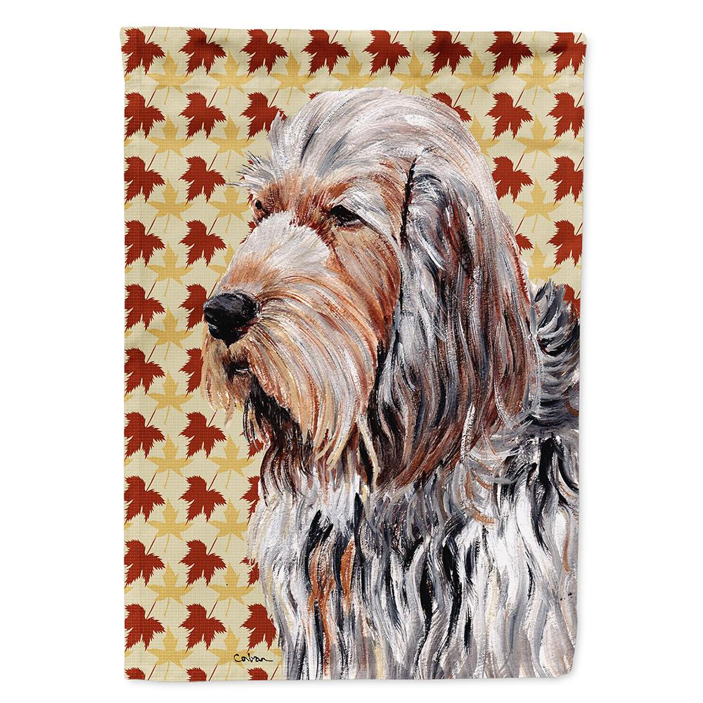 Buy this Otterhound Fall Leaves Flag Garden Size SC9684GF