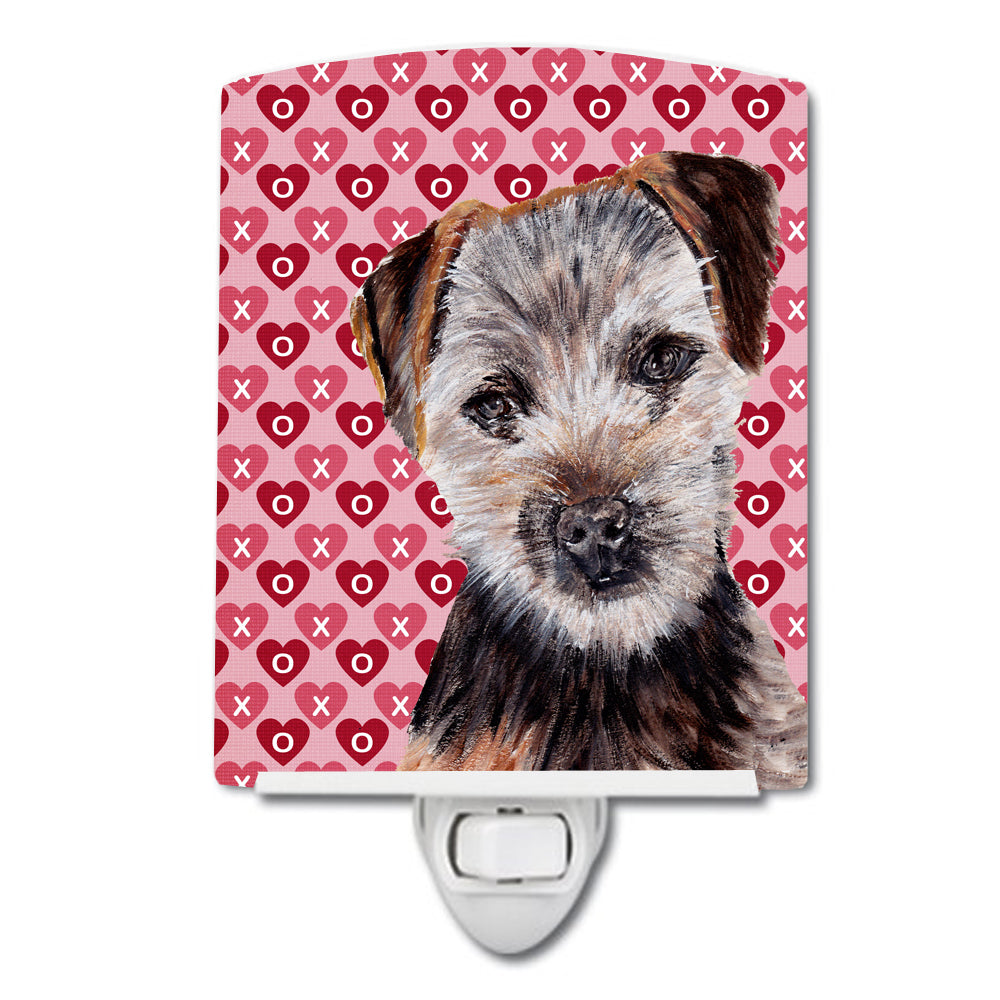 Buy this Norfolk Terrier Puppy Hearts and Love Ceramic Night Light SC9711CNL