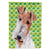 Buy this Wire Fox Terrier Lucky Shamrock St. Patrick's Day Flag Garden Size