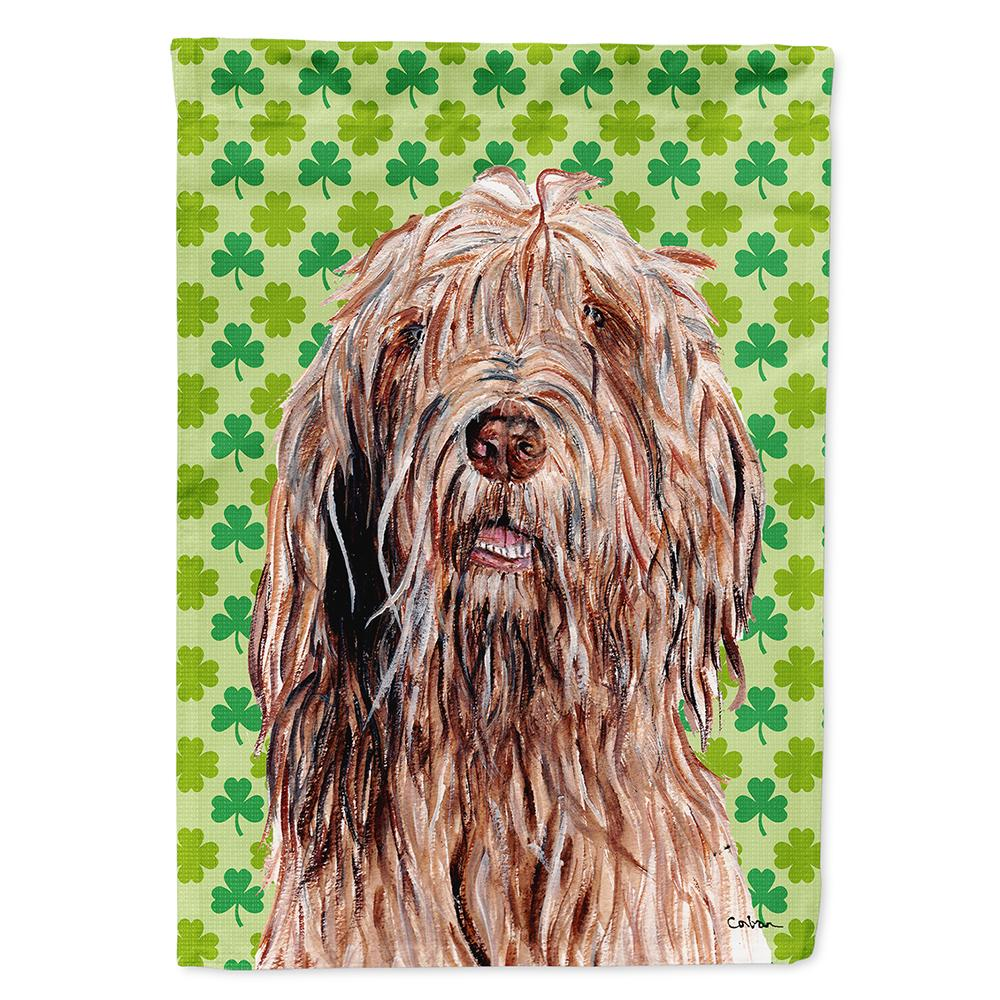 Buy this Otterhound Lucky Shamrock St. Patrick's Day Flag Garden Size SC9733GF