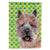Buy this Norwich Terrier Lucky Shamrock St. Patrick's Day Flag Garden Size