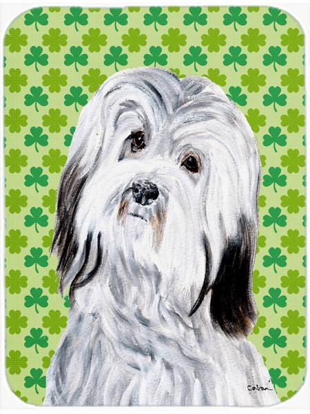 Havanese Lucky Shamrock St. Patrick's Day Mouse Pad, Hot Pad or Trivet SC9737MP by Caroline's Treasures