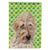 Buy this Golden Doodle 2 Lucky Shamrock St. Patrick's Day Flag Garden Size SC9739GF