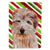 Buy this Norfolk Terrier Candy Cane Christmas Flag Garden Size